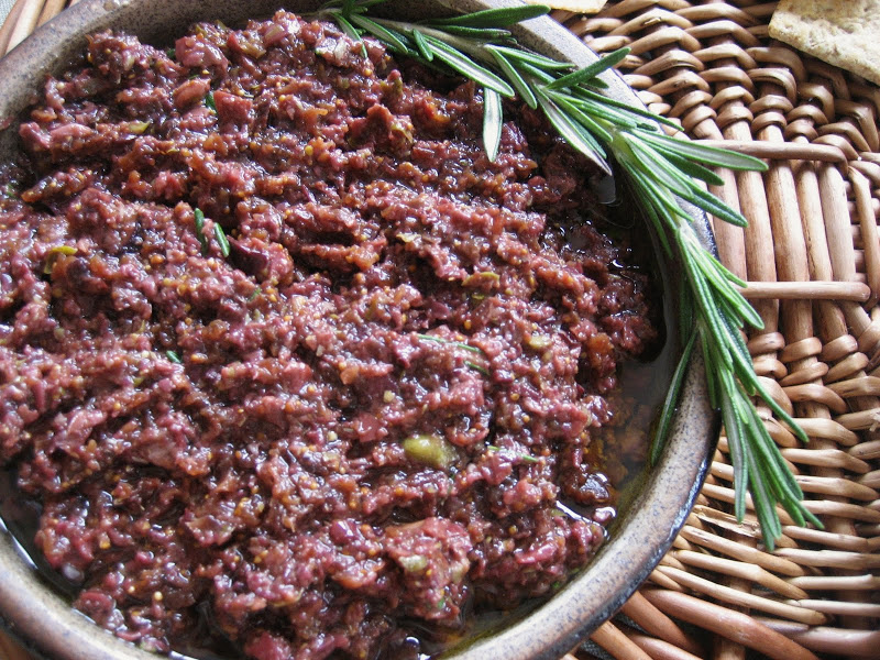 Fig-Olive Tapenade