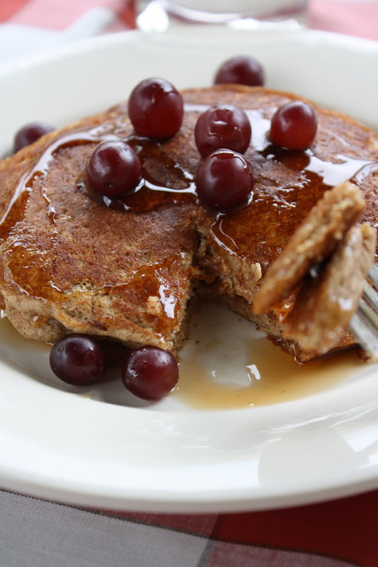 Egg-Free, Gluten-Free Brown Rice Pancakes