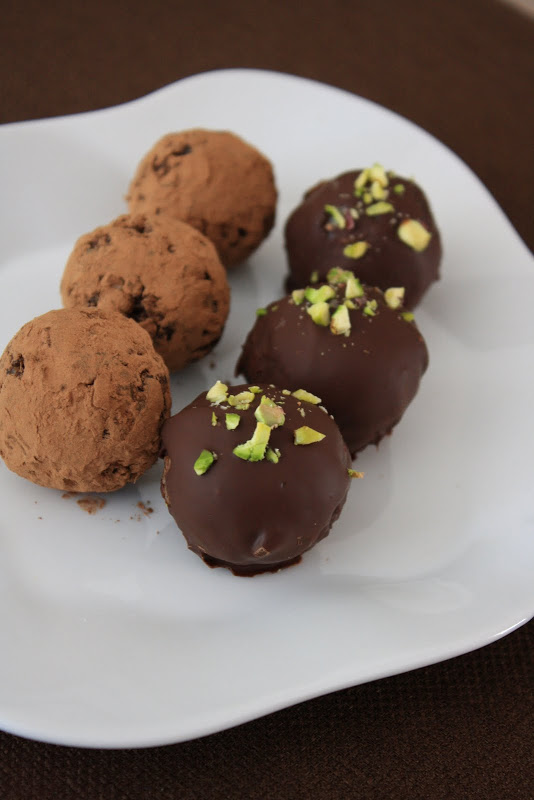 Date Truffles with Pecans and Coconut