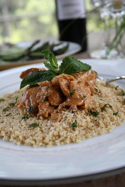 Moroccan Mustard Chicken for The Boston Globe