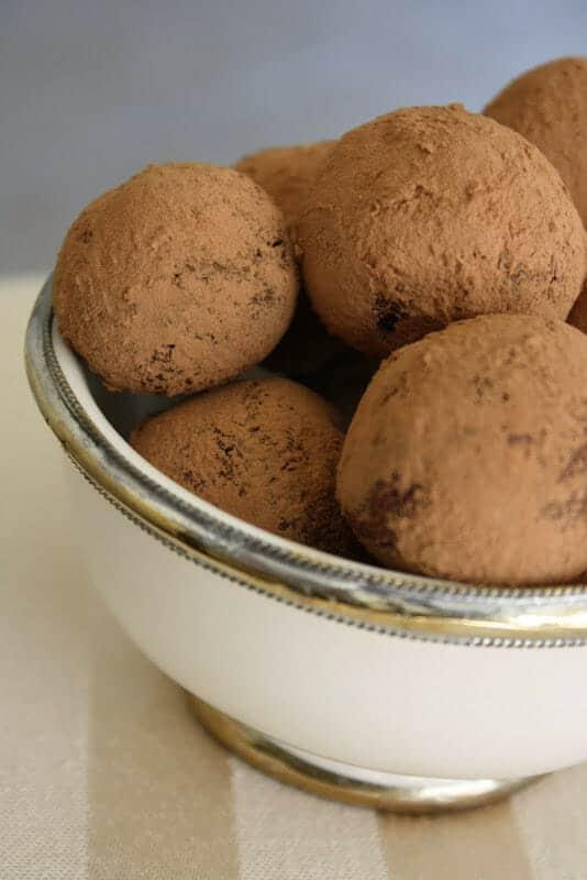 Cream Cheese Chocolate Truffles