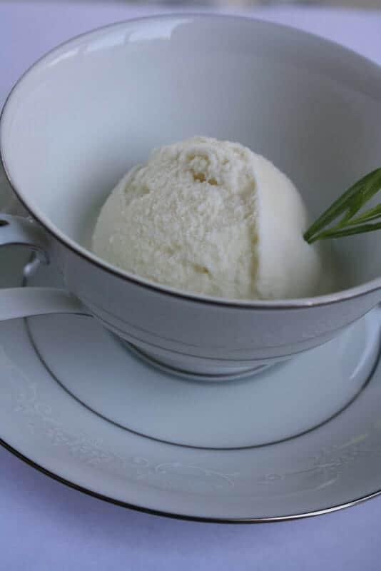 Tarragon Ice Cream