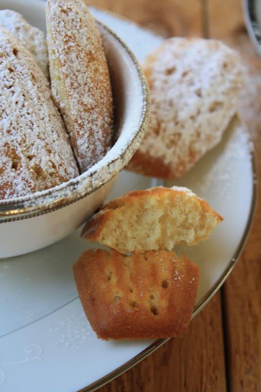 Gluten-Free Madeleines