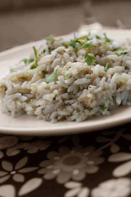 Rice with Duqqah