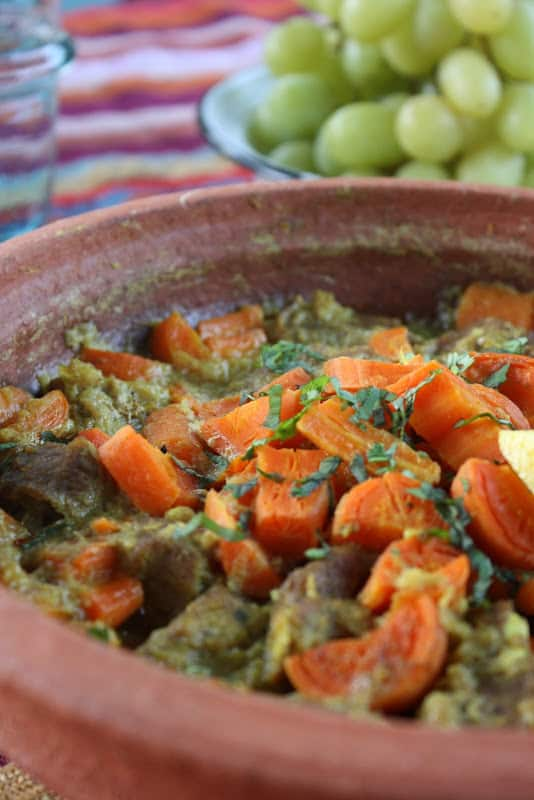Lamb and Carrot Tagine