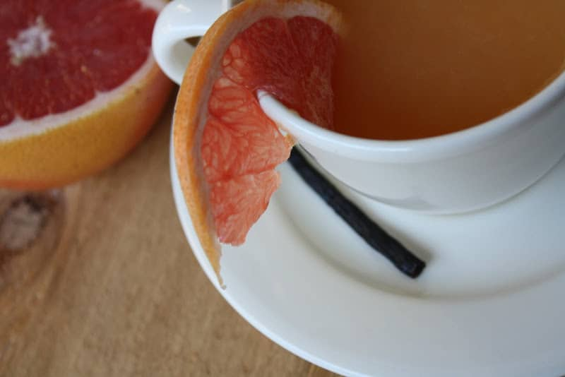 Hot Grapefruit Tea