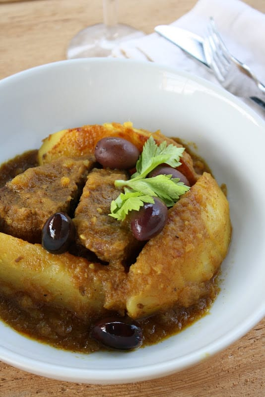 Meat and Potato Tagine