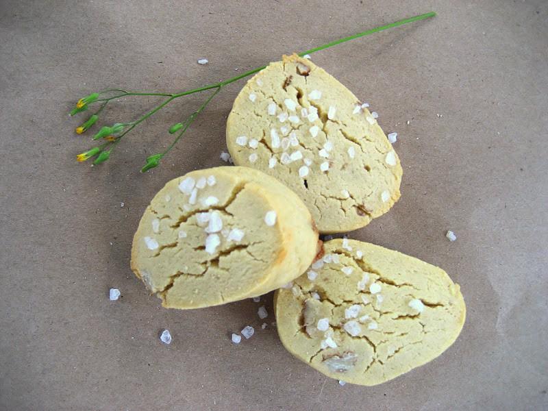 Gluten-free Millet Cookies with Pecans and Sea Salt