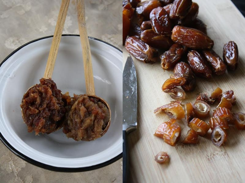 How to Make Date Paste (two ways)