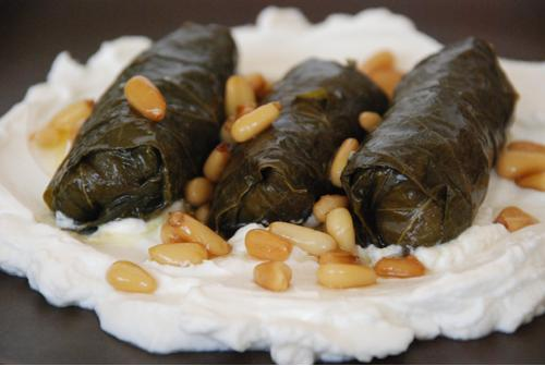 How to Stuff Grape Leaves