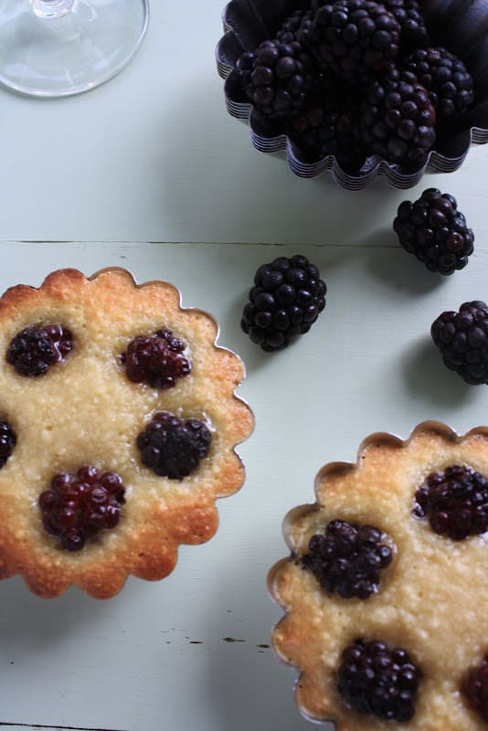 Almond Blackberry Tart Recipe