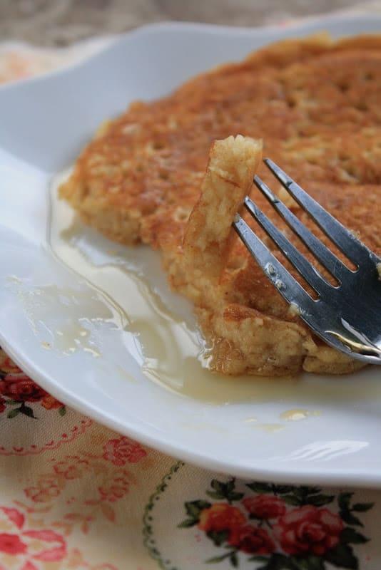 Gluten-Free Quinoa Flake Pancakes
