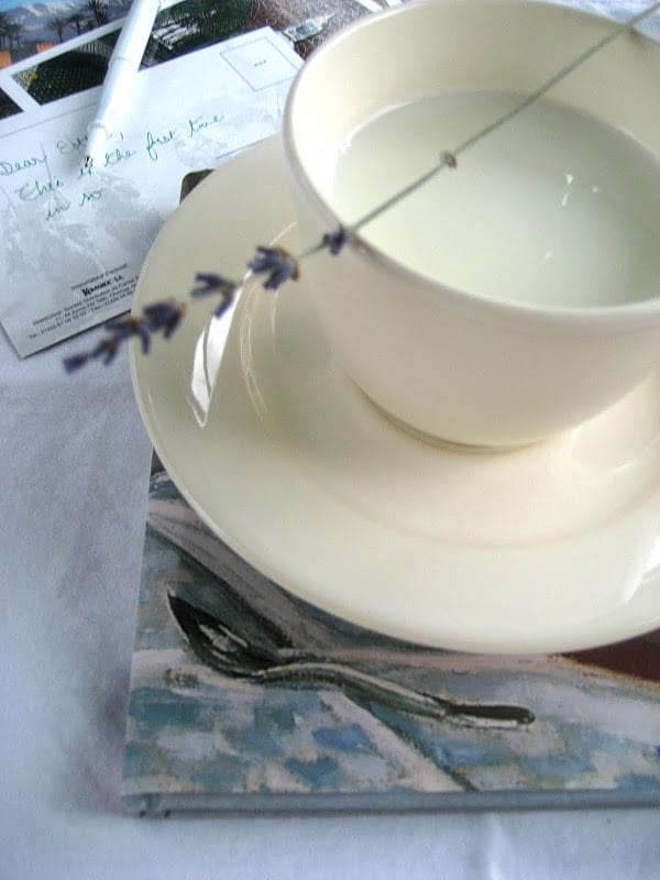 Hot Lavender Milk