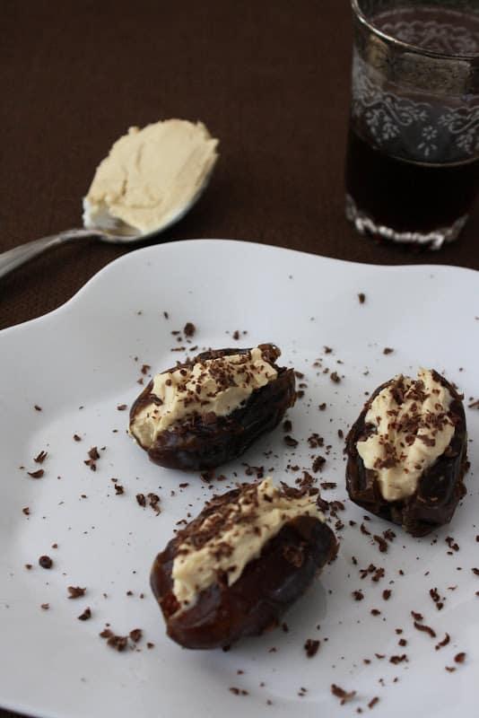 Espresso Mascarpone-Stuffed Dates