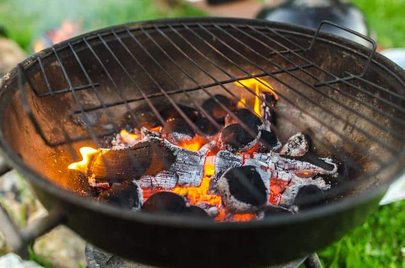 How to Put Out a Charcoal Grill Safely