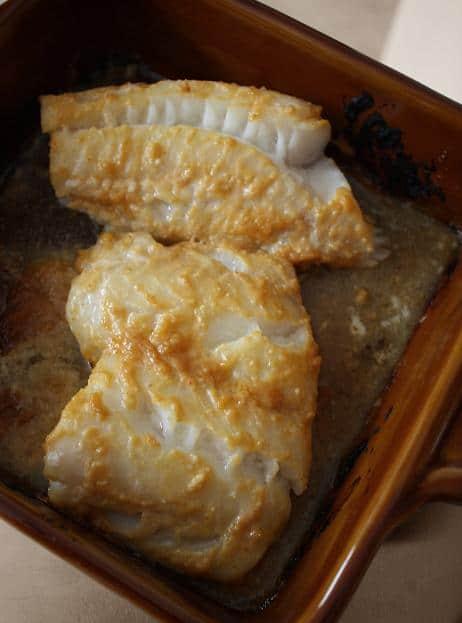 Baked Miso Fish