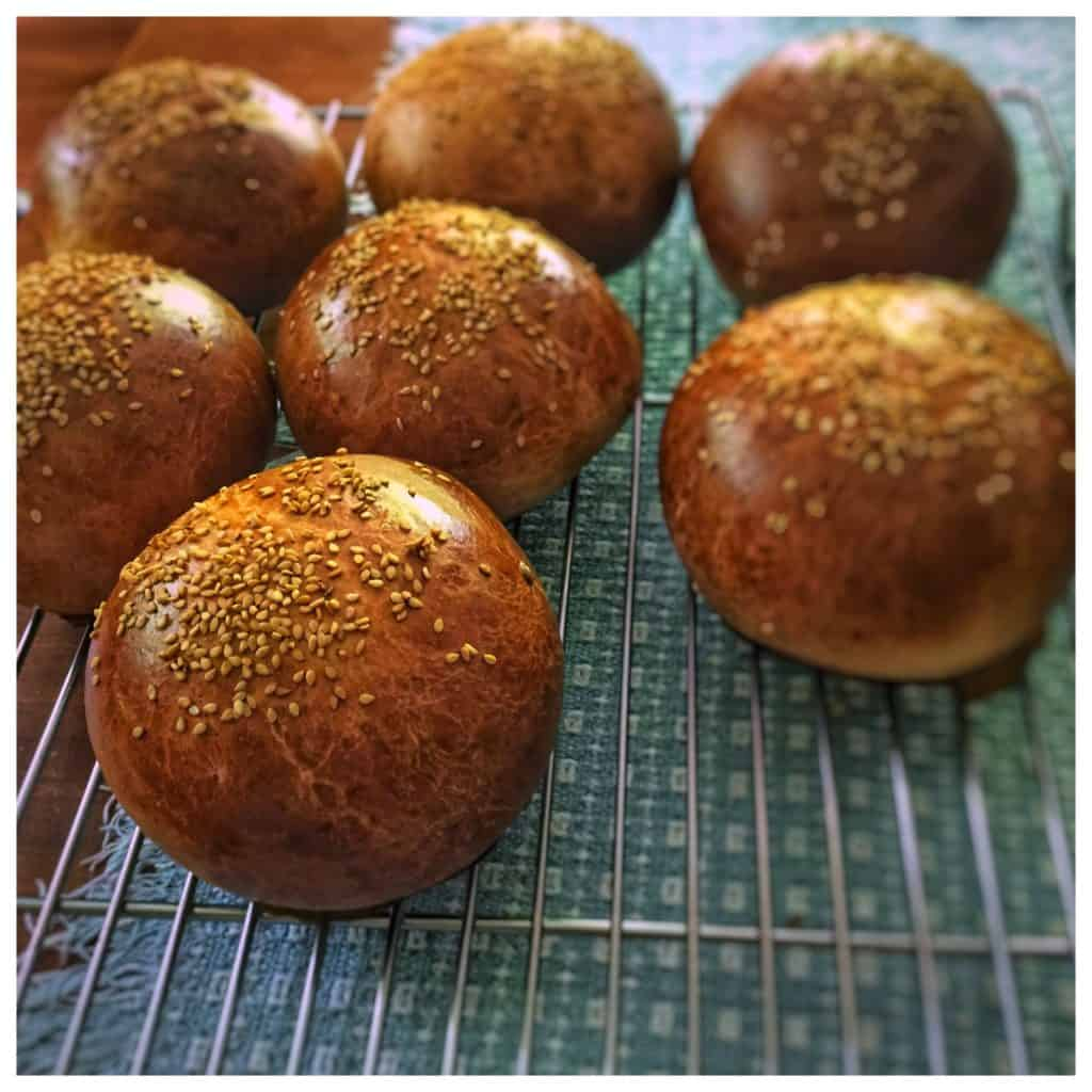 Moroccan Brioches with toppings