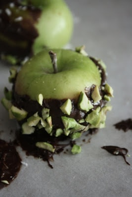 Chocolate Covered Lady Apples