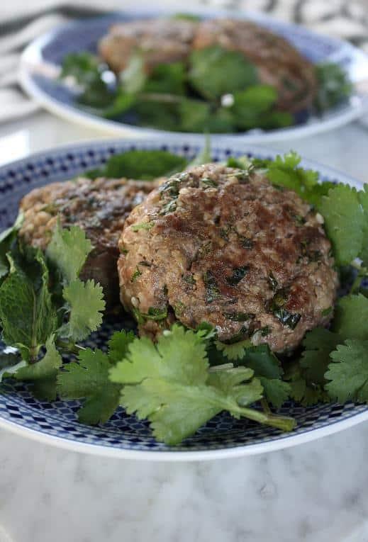 Meat and Bulgur Patties