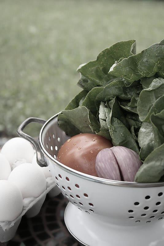 Micro-Chopped Cobb Salad with Lemon-Harissa Dressing