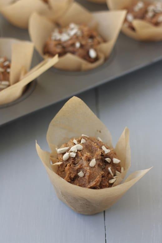 Sweet Potato-Raisin Muffins