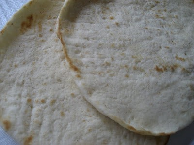 Toasted Flatbread with Argan Oil and Herbs