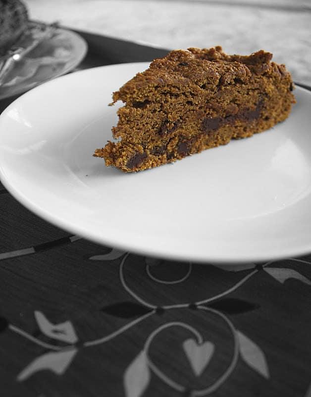 eggless pumpkin cake