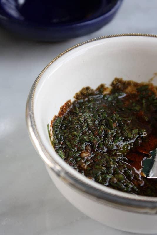 Chermoula Recipe for vegetables
