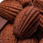 Whole Wheat Double Chocolate Madeleine