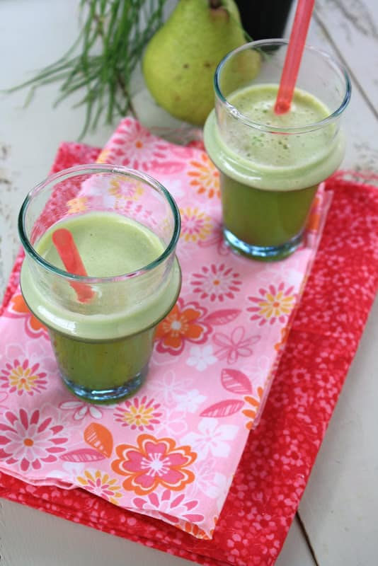 Pear and Green Pepper Juice