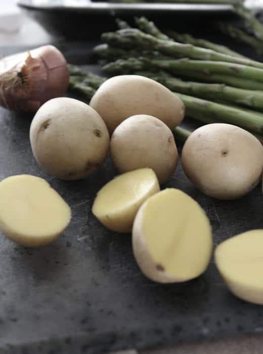 Warm Potato & Asparagus Salad
